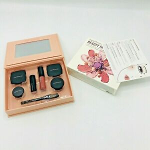 Bare Minerals Beauty in Bloom 7 Piece Fresh Faced Blush Eye Shadow Rouge Makeup
