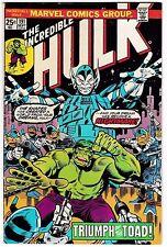INCREDIBLE HULK #191 (FN-) vs. The Shaper of Worlds, Glorian & the Toad-Men!
