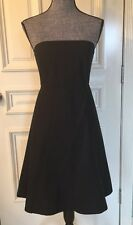 Gap Dress Stretch Women Size 8 Color Black Summer Stretch Dress