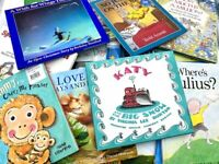 Lot of 15 Random Hardcover Children Books Story time Bedtime Kids Toddler Fun