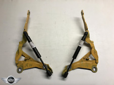 Yellow Bonnet Hinges with Struts - R55, R56, R57 Mini One, Cooper, Cooper S - 1