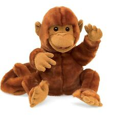 Classic Monkey Hand Puppet, Folkmanis MPN 3092, Boys & Girls, 3 Years and Up