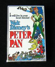 Pin Peter Pan Movie Poster Disney Shopping PIn LE 250 RARE