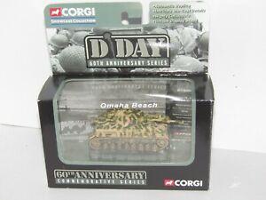 RARER CORGI FIGHTING MACHINES WWII GERMAN PANZER IV D DAY OMAHA BEACH MINT BOXED