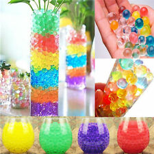 Purple Water Balls Crystal Pearls Jelly Gel Beads for Orbeez Toys Refill Decor