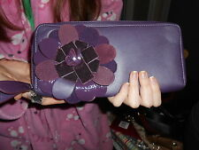 RADLEY LONDON AUTHENTIC LEATHER PURSE/CLUTCH  WITH FLORAL DESIGN