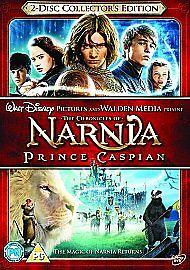 The Chronicles Of Narnia - Prince Caspian (DVD, 2008, 2-Disc Set)