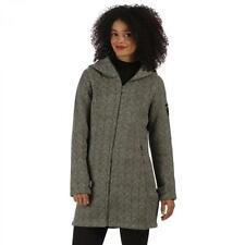 Cappotti e giacche da donna grigia con Cerniera Taglia 46