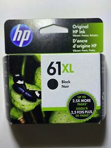 NEW Genuine HP 61XL Black Original Ink Cartridge (CH563WN) OEM Exp. SEP 2022