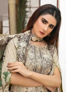Tawakkal Fashion & Fantasy Unstitched Embroidered Salwar Kameez Lawn Suit