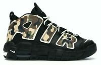 NIKE AIR MORE UPTEMPO QS (GS) CAMO BLACK / SAIL-TAN CJ0930 001