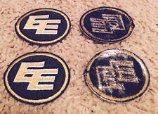 Lot of 2 Edmonton Eskimos CFL Football Golf Shirt Hat Crest Patch Set