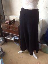 "👀 **LAURA ASHLEY **👀 UK 8(EU 34) Black Skirt With STRETCH-LENGTH 36"" RRP £55-"