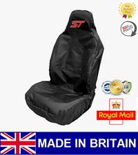 ST CAR SEAT COVER PROTECTOR SPORTS BUCKET HEAVY DUTY WATERPROOF - FORD FIESTA ST