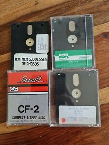 4 X Amstrad CPC Disks: Various Software & Games