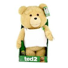 Ted 2 Tank Top 16-Inch R-Rated Talking Animated Plush Teddy Bear - Moving Mouth