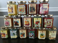 Home Interiors Gifts Homco Candle In A Jar 7 5 Oz Retired Scents Paraffin Wax