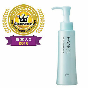 FANCL Mild Cleansing Oil, Skincare Cleanser Makeup Remover 4.0 fl oz/120ml JAPAN