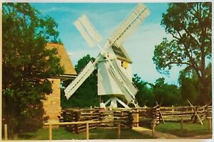Robertson's Windmill Williamsburg Virginia Postcard