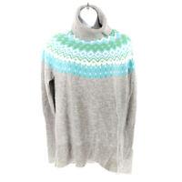 Sundance Catalog Cashmere Sweater Gray Women's XS Turtleneck Long Sleeve