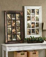 12-Opening Collage Photo Frame Country Rustic Farmhouse Home Decor Bronze White