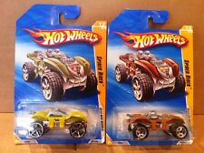 HOT WHEELS  - 2 X Spider Rider 2010 New Models - Combined Postage