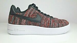 Nike Air Force 1 Flyknit 2.0 Red Black CI0051-600 Mens us5 us6.5/WMNS us6.5 us8