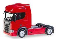 Scania CR20 tracteur solo 2016 rouge - Herpa - Echelle 1/87 (Ho)