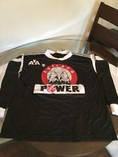 Vintage Adidas Chicago Power Black Game Used Soccer Jersey #22 XL AISL NPSL
