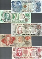 Philippines ✨ 2, 5, 10, 20 & 50 piso ✨ 5 Banknotes ✨ Collections & Lots #1680