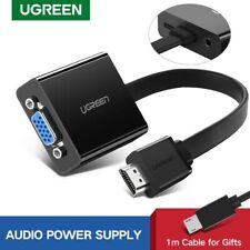 Ugreen 1080P Active HDMI to VGA Converter Digital Analog Audio Adapter for PS4