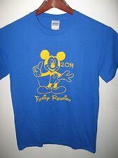 Walt Disney Disneyland Disney World Mickey Mouse Family Reunion 2014 T Shirt Sm