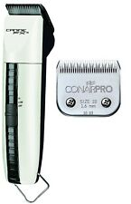 CONAIR A5 Canine FX II PRO Dog GROOMING CLIPPER KIT-4 Guide Combs,10 Blade,CASE