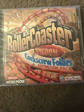 Roller Coaster Tycoon Corkscrew Follies Expansion Pack CD-ROM NEW, SEALED