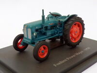 Hachette 1/43 Scale Model Tractor HT073 - 1958 Fordson Power Major - Blue