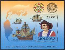 Moldavia 1992 Columbus/Veleros/transporte/exploración/Náutica 1 V m/s n41650