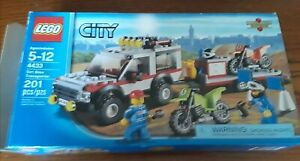 Lego 4433 City Dirt Bike. Used w/instructions and box