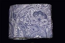 Ralph Lauren Navy & White SUITE PAISLEY Cal King Bedskirt NIP MSRP $135 DISC