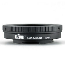 Adaptateur Bague Objectif Leica M39 vers Boitier Nikon 1 J1 J2 J3 V1 V2 S1 1 AW1