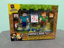 Minecraft Celebration Hero 2 Pack Figure Set 2019