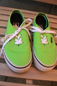 Vans Unisex Authentic Lo Pro Sneakers hellgrün/grasgrün – Gr. 38 - ungetragen