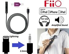 Fiio i1 Apple iPhone iPad 3.5mm Headphone Adapter With Built-in Amplifier & DAC