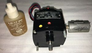 BODINE ELECTRIC AC TURNTABLE GEAR MOTOR~ U1825032~ KCI-23B2A1~ NEW W/ CAPACITOR