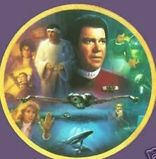 Star Trek Iv The Voyage Home Plate Mint with Coa