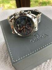 OMEGA Speedmaster Triple Date Steel Automatic Watch W/ Box & Papers 3521.80