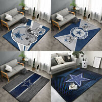 Dallas Cowboys Area Rug Fluffy Floor Mat Living Room Rug Anti-Skid Carpet Decor
