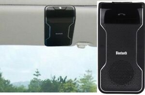 Handsfree Wireless Bluetooth Sun Visor Carkit for all cellphones with Bluetooth