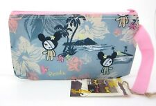 Tokidoki Cactus Friends Paradise Cosmetic Pencil Zipper Pouch with Strap