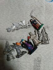 Vintage Metal D&D Ral Partha 11 Figures Wizards & Magic User Lot PC table top RP