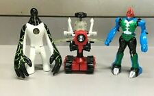Ben 10 Action Figures and Vehicle Lot of 3